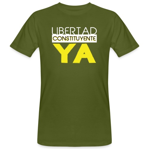 Libertad Consituyente ¡YA! - Camiseta ecológica hombre