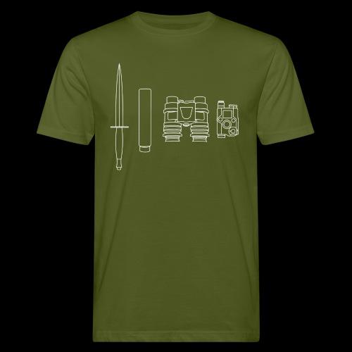 SOPMOD weiss - Männer Bio-T-Shirt