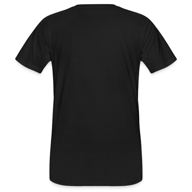 cartoon koe zwart shirt