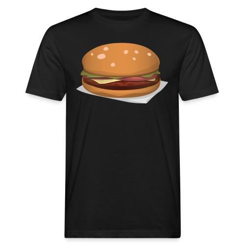 hamburger-576419 - T-shirt ecologica da uomo