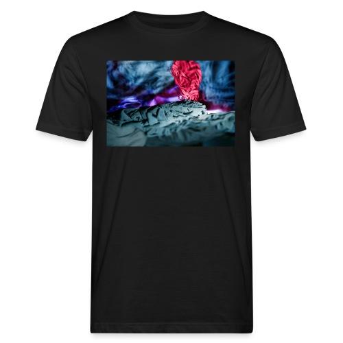 Vulkanausbruch - Männer Bio-T-Shirt