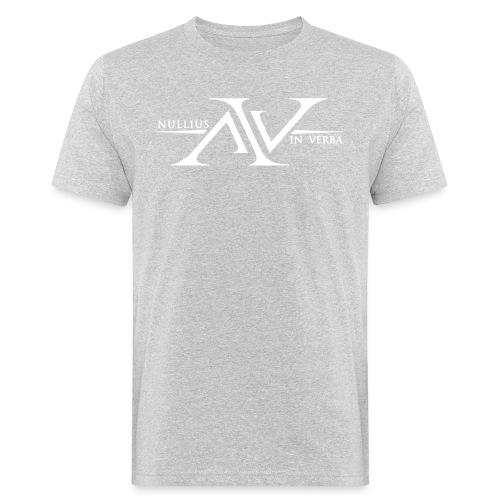 Nullius In Verba Logo - Men's Organic T-Shirt