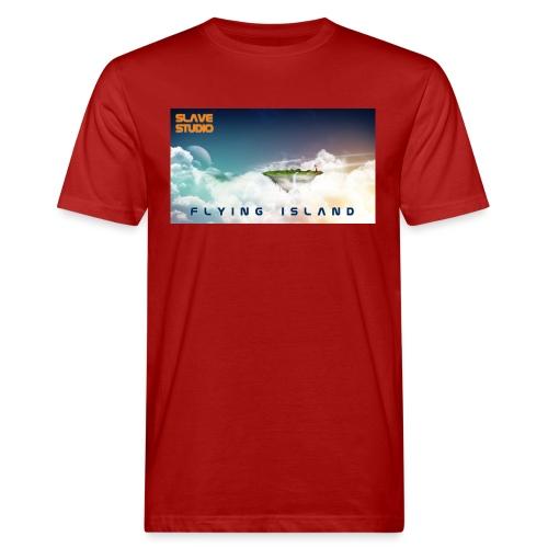 flying island - T-shirt ecologica da uomo