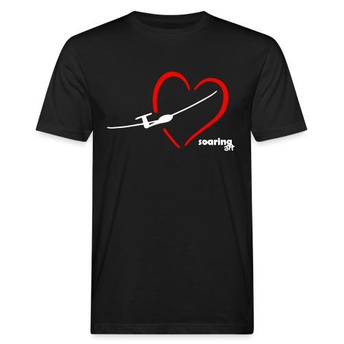 I LOVE SOARING - Männer Bio-T-Shirt