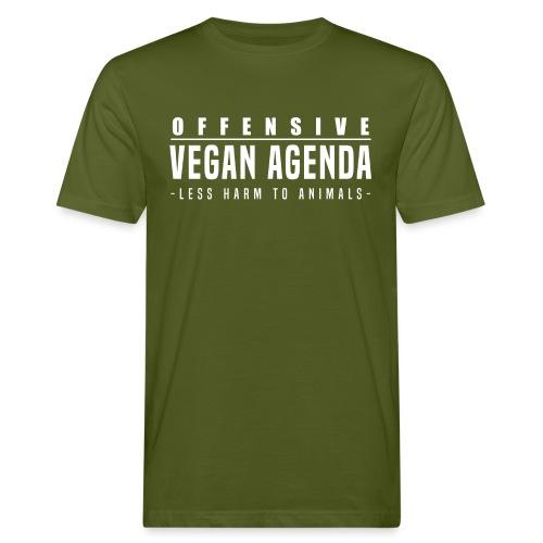 Offensive Vegan Agenda - Men's Organic T-Shirt