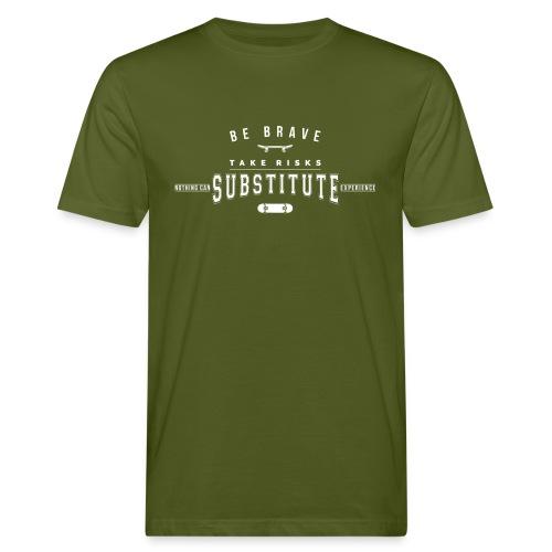 skateboard - Ekologiczna koszulka męska