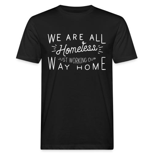Homeless - Mannen Bio-T-shirt