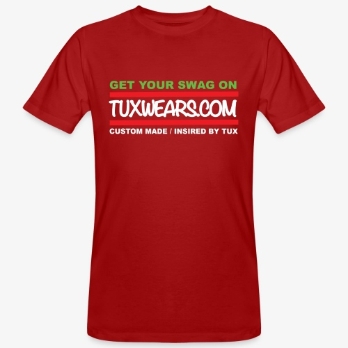 TUXWEARS.COM - Men's Organic T-Shirt
