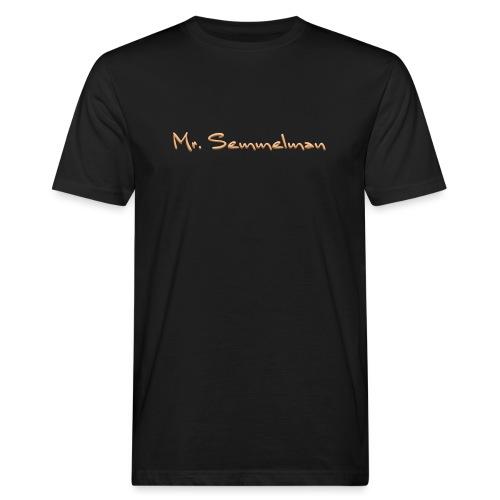 Mr Semmelman text - Ekologisk T-shirt herr