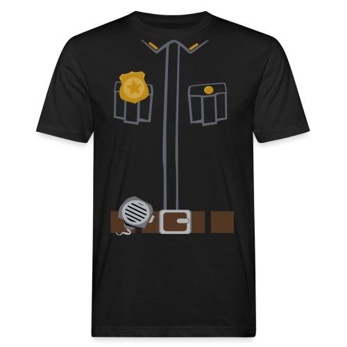 Police Costume Black - Men's Organic T-Shirt