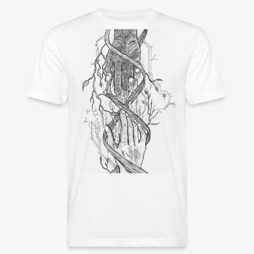 Reconnect - Narrow Transparent Edition by Rivinoya - Miesten luonnonmukainen t-paita