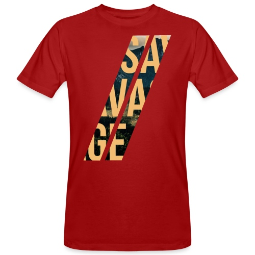 //Savage - T-shirt ecologica da uomo