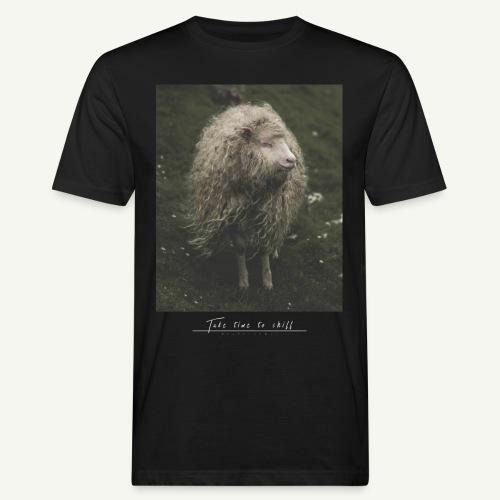 Take time to chill - Männer Bio-T-Shirt