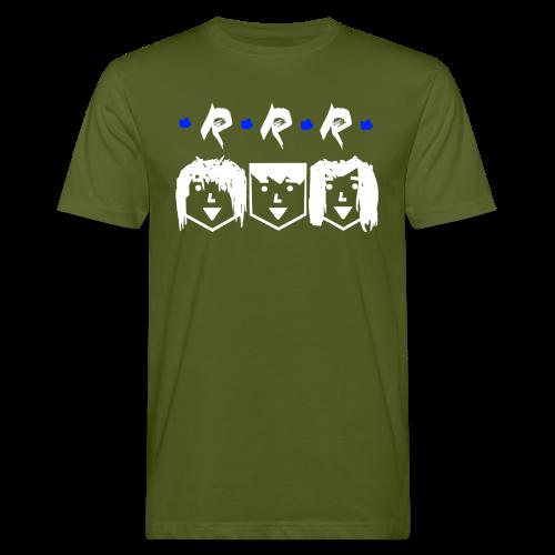 RRR - Heads (Für Schwarze Kleidung) - Männer Bio-T-Shirt