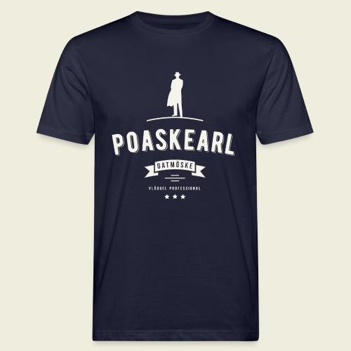 Poaskearl Oatmöske - Mannen Bio-T-shirt