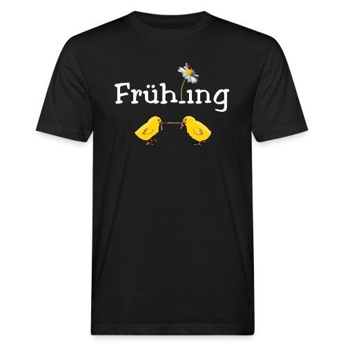 Tschüss Winter - endlich Frühling - Männer Bio-T-Shirt