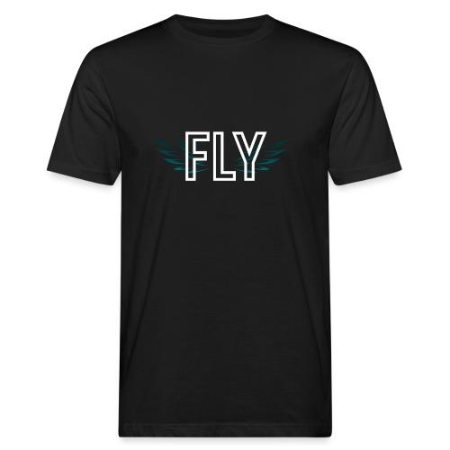 Wings Fly Design - Men's Organic T-Shirt