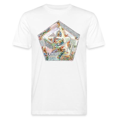 Pentagranuncolo - T-shirt ecologica da uomo