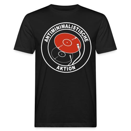 Antiminimalistische Aktion png - Männer Bio-T-Shirt