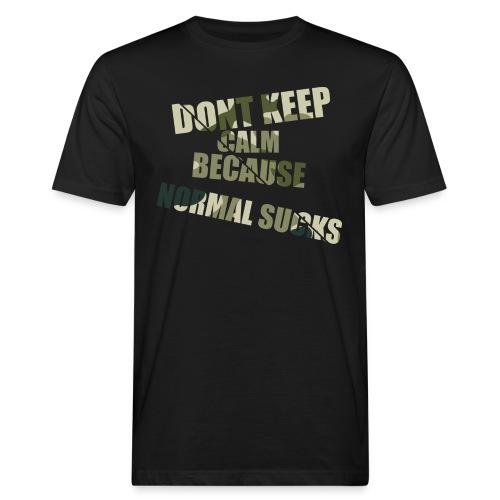 Normal sucks moro - Ekologiczna koszulka męska
