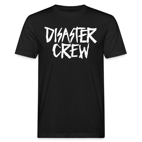 Disaster Crew Logo - Mannen Bio-T-shirt