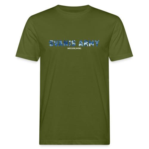 SVANIS ARMY, SWEDISHGAMING - Ekologisk T-shirt herr