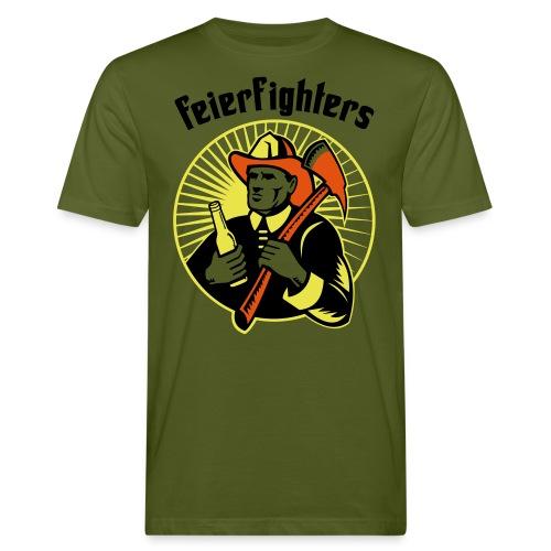 feierfighters - Männer Bio-T-Shirt