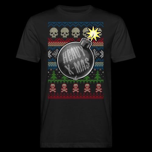 Heavy X-Mas Christbaumkugel-Bombe - Männer Bio-T-Shirt