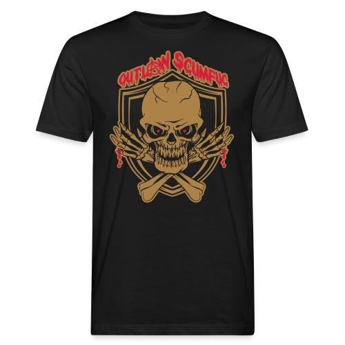 Outlaw Scumfuc - Männer Bio-T-Shirt