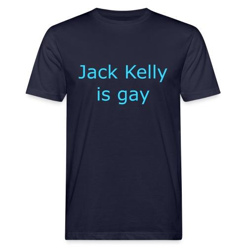 Jack Kelly Is Gay Plain Text - Men's Organic T-Shirt