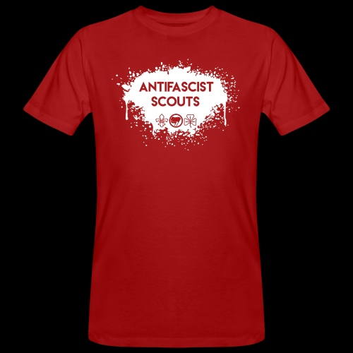 Antifascist Scouts - Men's Organic T-Shirt