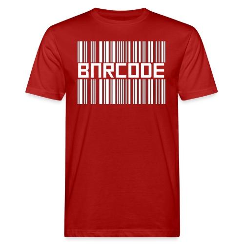 BARCODE BLACK - Men's Organic T-Shirt