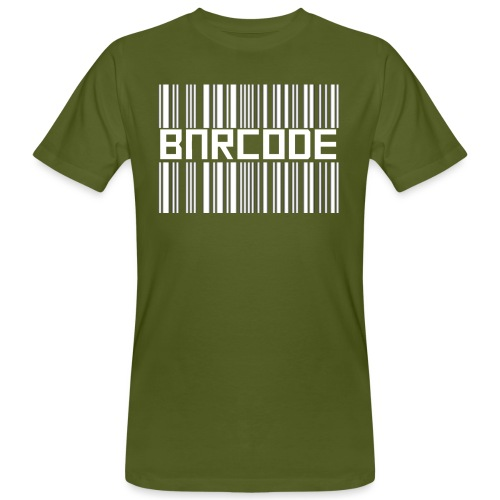 BARCODE BLACK - Men's Organic T-Shirt