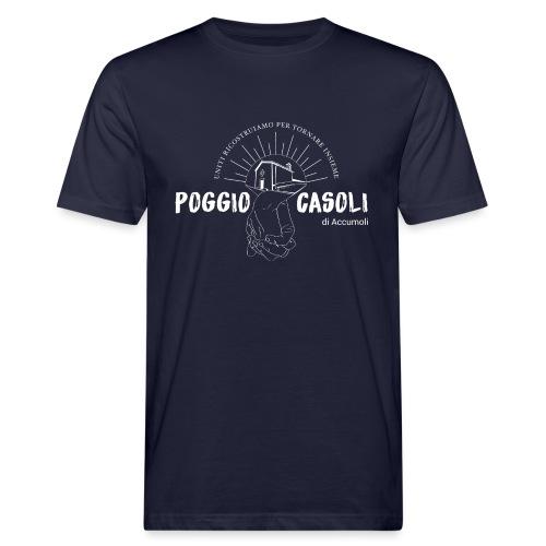 Poggio Casoli_Istituzionale_Bianco - T-shirt ecologica da uomo