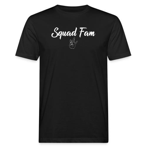 SquadFam WHITE - Ekologisk T-shirt herr