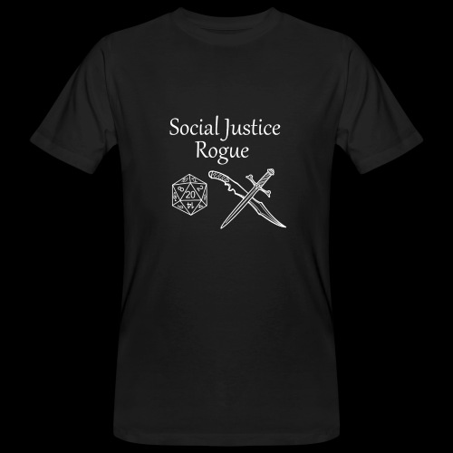 Social Justice Rogue - Men's Organic T-Shirt