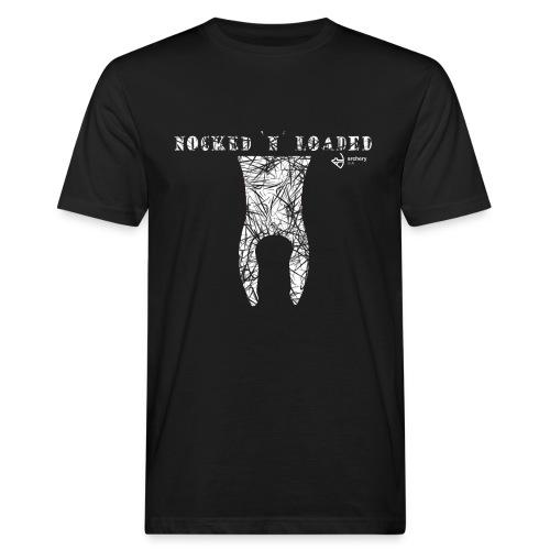 Nocked `n´ Loaded - Männer Bio-T-Shirt