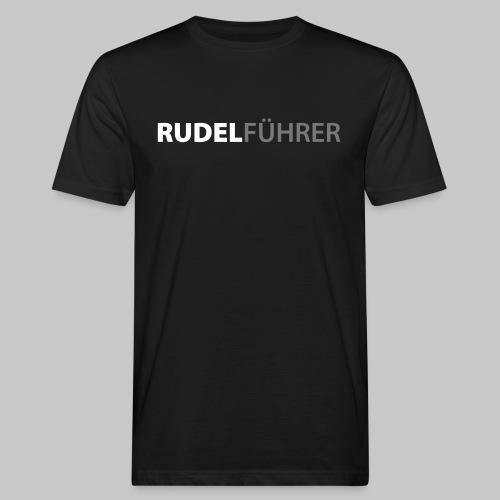 Rudelführer Hunde - Männer Bio-T-Shirt