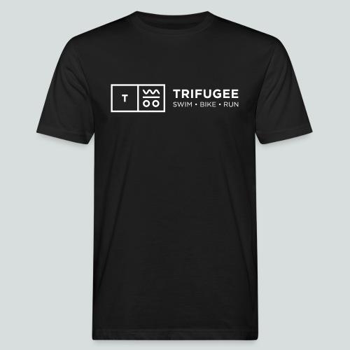 Trifugee_Logo - Männer Bio-T-Shirt