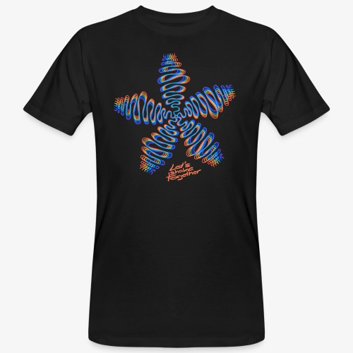 Good Vibes - let's shake together - Männer Bio-T-Shirt