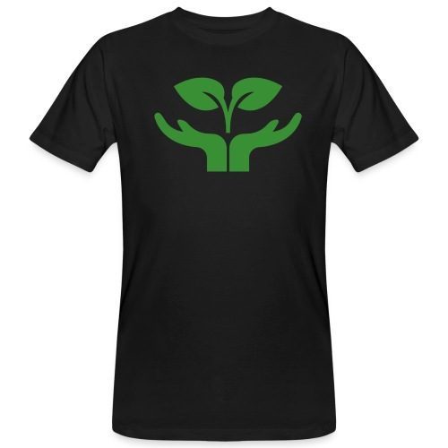 Pflanze einen Baum - Männer Bio-T-Shirt