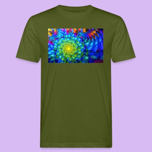 Astratto luminoso - T-shirt ecologica da uomo