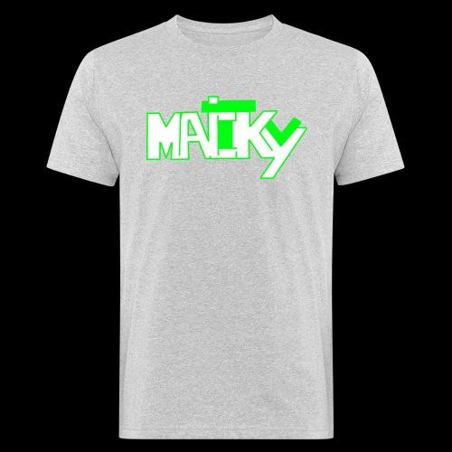 MaickyTv Grün - Männer Bio-T-Shirt