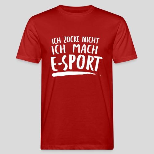 Gaming Zitat E-sport - Männer Bio-T-Shirt