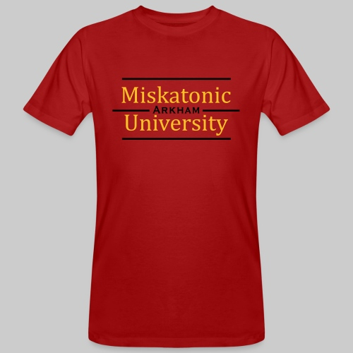MJKv1: Miskatonic University - Arkham - Männer Bio-T-Shirt