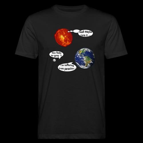 mg suffering planet - Männer Bio-T-Shirt