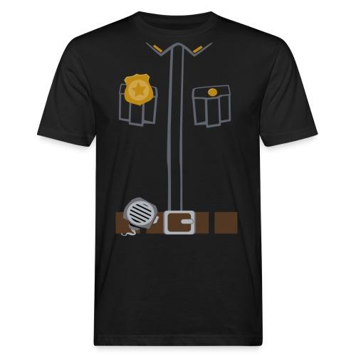 Police Tee Black edition - Men's Organic T-Shirt