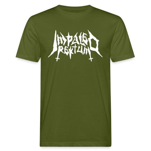 Impaled Rektum -logo shirt - Miesten luonnonmukainen t-paita