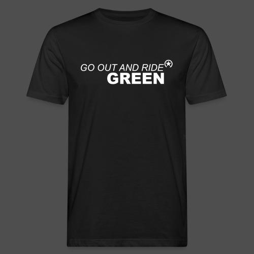 jeździć zielono - Ekologiczna koszulka męska