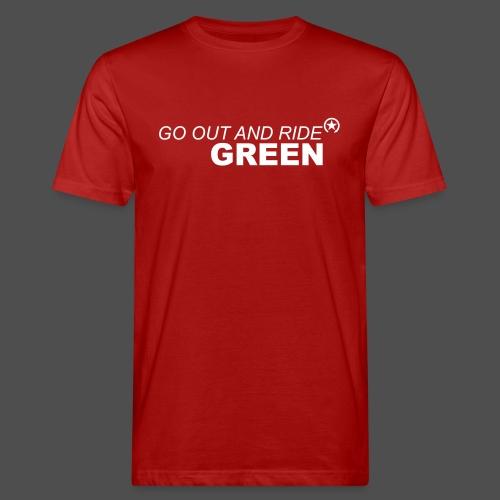 ride green - Men's Organic T-Shirt